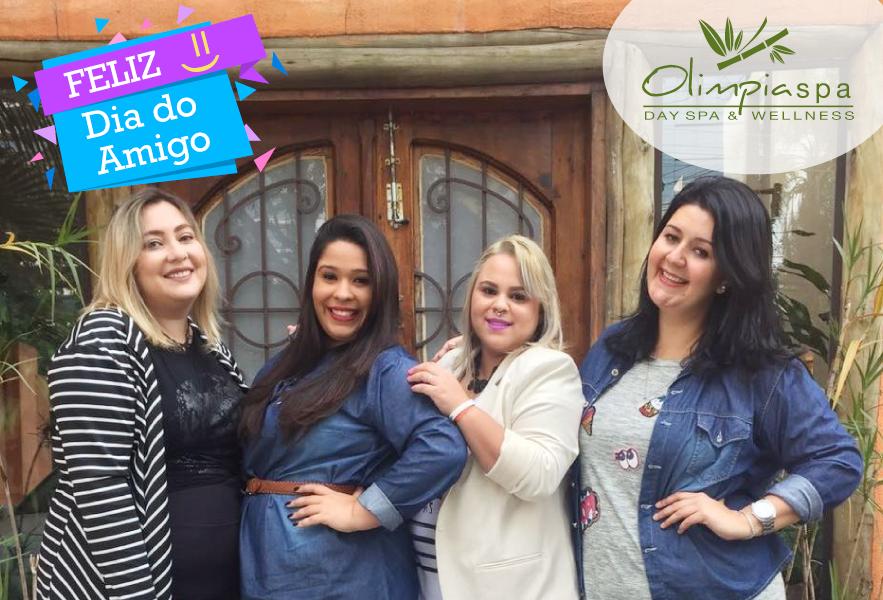 Comemoração do dia do amigo das lindas na Unidade Vila Olimpia!